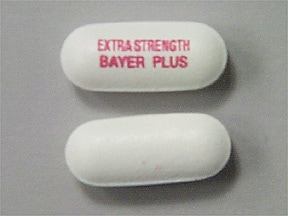 Bayer Plus Extra Strength 500 mg tablet