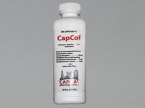 CapCof 2 mg-5 mg-10 mg/5 mL oral liquid