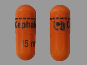 Amrix 15 mg capsule,extended release