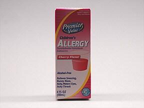 Children's Allergy (diphenhydramine) 12.5 mg/5 mL oral liquid