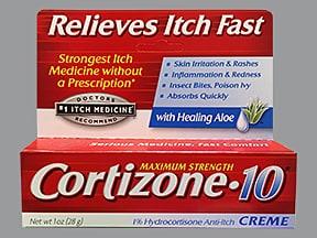 Cortizone-10 1 % topical cream