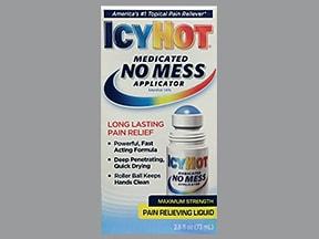 Icy Hot No Mess 16 % topical liquid