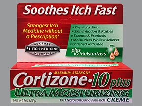 Cortizone-10 Plus 1 % topical cream