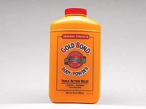 Gold Bond Medicated 0.15 %-1 % topical powder