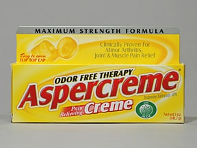 Aspercreme with Aloe 10 % topical