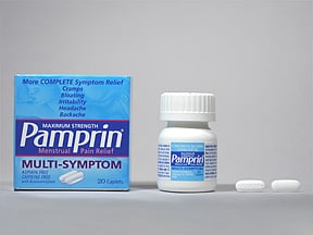 Pamprin Multi-Symptom 500 mg-25 mg-15 mg tablet