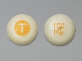 Tegretol XR 100 mg tablet,extended release