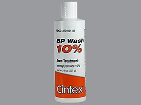 BP Wash 10 % topical cleanser