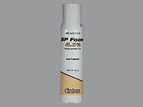 BP Foam 5.3 % topical