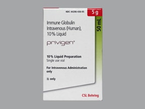 Privigen 10 % intravenous solution