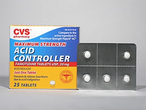 Acid Controller 20 mg tablet