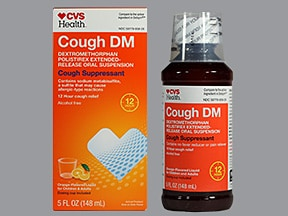 Cough DM ER 30 mg/5 mL oral suspension,extended release