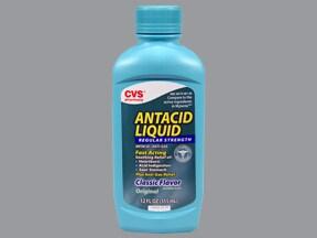Antacid with Simethicone 200 mg-200 mg-20 mg/5 mL oral suspension