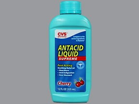 Antacid Supreme 400 mg-135 mg/5 mL oral suspension