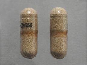 Fiber Laxative (psyllium husk) 0.52 gram capsule