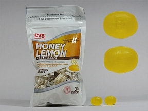 Honey Lemon 8 mg lozenges