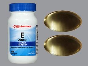 vitamin E (dl, acetate) 200 unit capsule