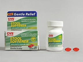 Stool Softener 100 mg capsule