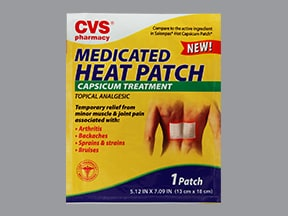 Medicated Heat Patch 0.025 % topical