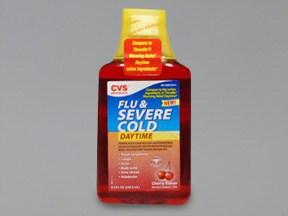 Flu and Severe Cold-Daytime 5 mg-10 mg-325 mg/15 mL oral liquid