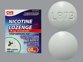 nicotine (polacrilex) 4 mg buccal lozenge