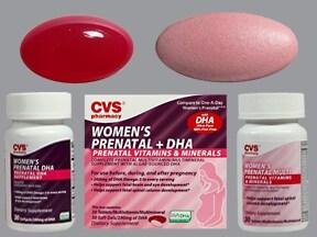 Women's Prenatal + DHA 28 mg-975 mcg-200 mg oral pack
