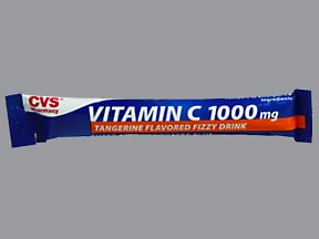 Vitamin C Energy Booster 1,000 mg oral effervescent powder packet