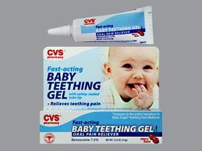 Baby Teething Gel 7.5 % mucosal gel
