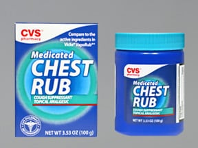 Medicated Chest Rub topical ointment