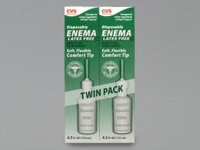 Enema Disposable 19 gram-7 gram/118 mL