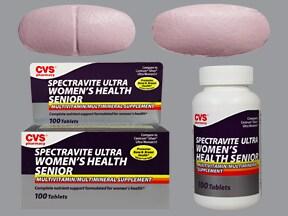 Spectravite Ultra Women's Senior 8 mg iron-400 mcg-300 mcg tablet