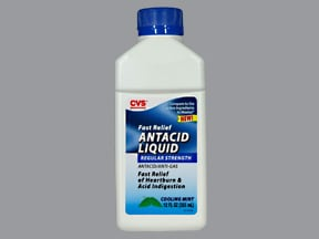 Antacid Anti-Gas 200 mg-200 mg-20 mg/5 mL oral suspension