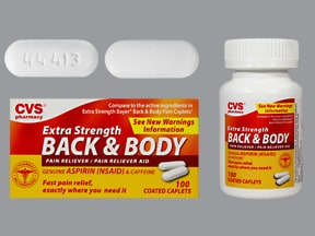 Back and Body Pain Reliever 500 mg-32.5 mg tablet