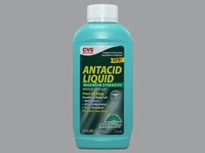 Antacid Plus Anti-Gas 400 mg-400 mg-40 mg/5 mL oral suspension