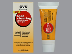 Fast Clearing Spot 2 % topical gel