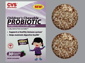 Children's Chewable Probiotic 1.5 billion cell tablet