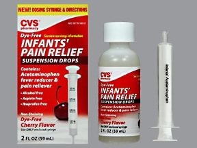 Infant's Pain Relief 160 mg/5 mL oral suspension