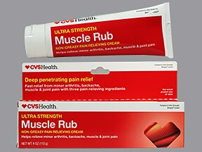Muscle Rub (with camphor) 4 %-30 %-10 % topical cream