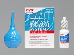 Ear Wax Removal Kit 6.5 % drops