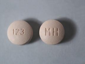 ergotamine 1 mg-caffeine 100 mg tablet