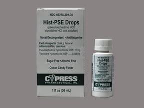 Hist-PSE 0.938 mg-10 mg/mL oral liquid