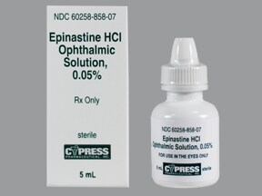 epinastine 0.05 % eye drops