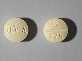 Revia 50 mg tablet