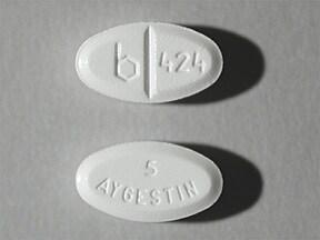 Aygestin 5 mg tablet