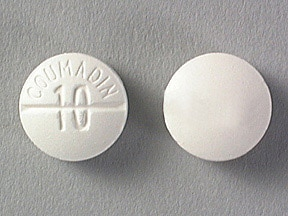 Coumadin 10 mg tablet