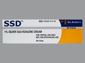 SSD 1 % topical cream