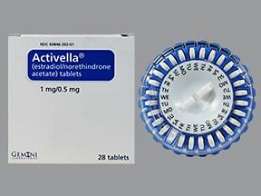 Activella 1 mg-0.5 mg tablet