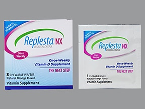 Replesta NX 14,000 unit oral wafer