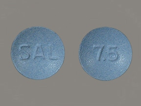 Salagen (pilocarpine) 7.5 mg tablet