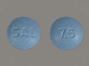 Salagen (pilocarpine) 7.5 mg tablet